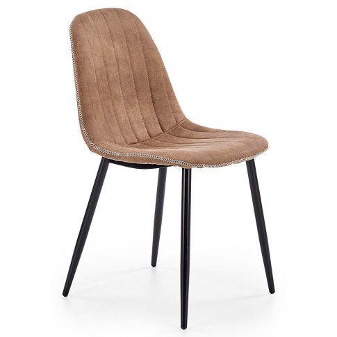 Zdjęcie produktu Krzesło tapicerowane Klaren - beżowe.