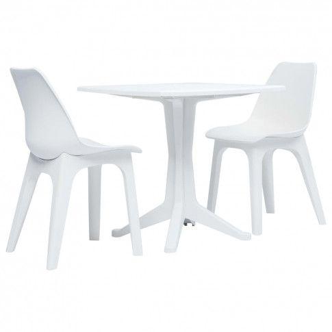 Zdjęcie produktu Zestaw mebli ogrodowych Lares - biały.