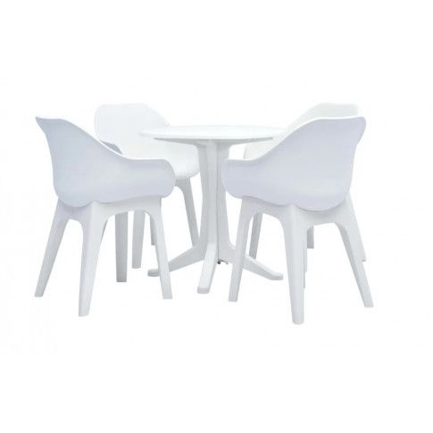 Zdjęcie produktu Zestaw mebli ogrodowych Lirma 4X - biały.