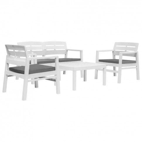 Zdjęcie produktu Zestaw mebli ogrodowych Sopra - biały.