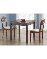 Rozkładany stół Cubico - ciemny orzech