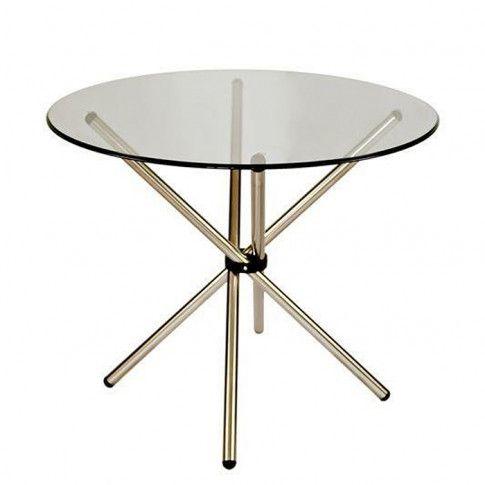 Zdjęcie produktu Stół okrągły Cosmo - srebrny.
