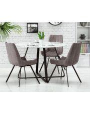 Stół Vinto - biały + czarny