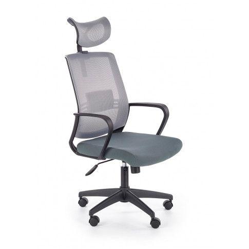 Zdjęcie produktu Fotel obrotowy Retos - szary.