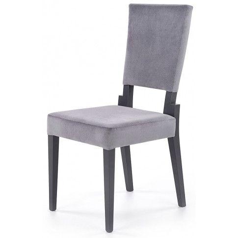 Zdjęcie produktu Krzesło drewniane Elton - popiel + grafit.