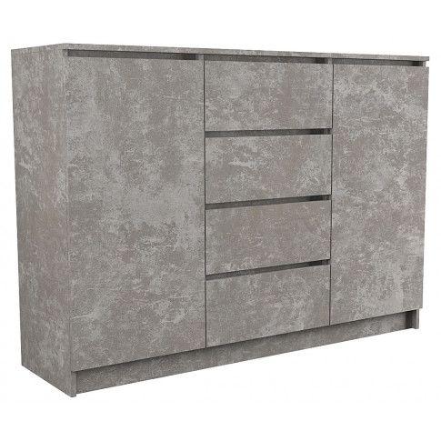 Zdjęcie produktu Komoda szara Intia 2X - beton.