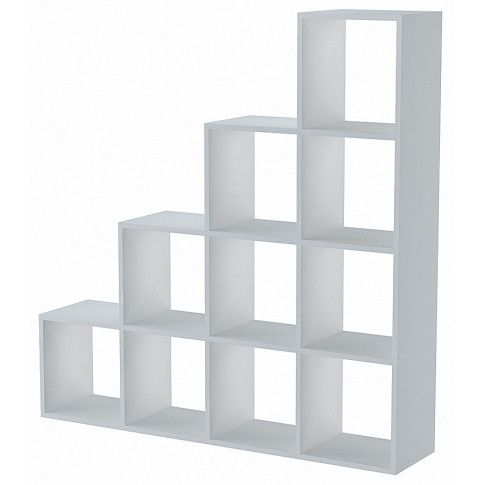 Zdjęcie produktu Regał schodkowy Maleo 5X - biały.