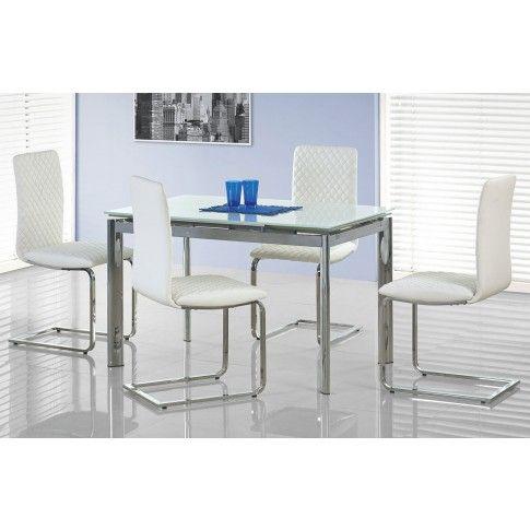 Zdjęcie produktu Rozkładany stół Lartes - biały.