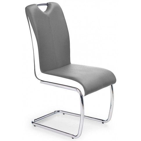 Zdjęcie produktu Tapicerowane krzesło Goran - popielate.