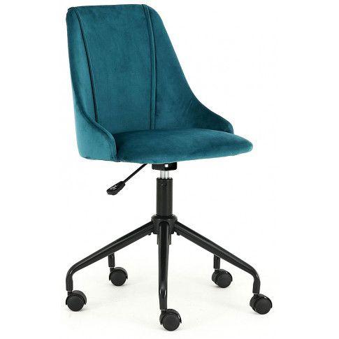 Zdjęcie produktu Fotel obrotowy dla dziecka Nemis - zielony.