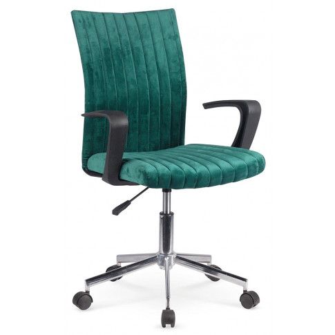 Zdjęcie produktu Fotel obrotowy dla ucznia Entler - zielony.