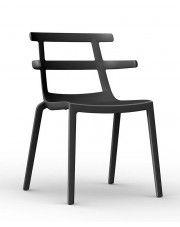 Krzesło Tello - czarne
