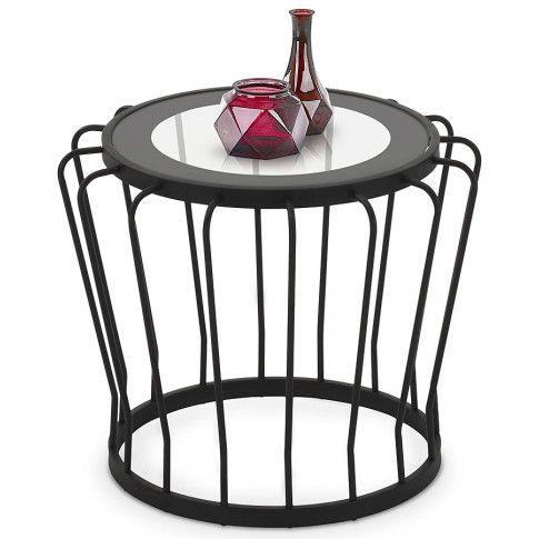 Zdjęcie produktu Ława okrągła Reeva - czarna.