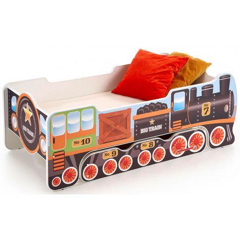 Zdjęcie produktu Łóżko dziecięce lokomotywa Milo 6X.