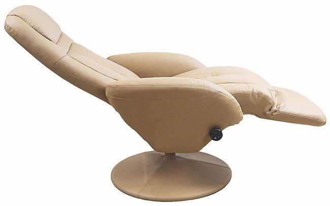 Beżowy fotel wypoczynkowy do salonu Timos 2X