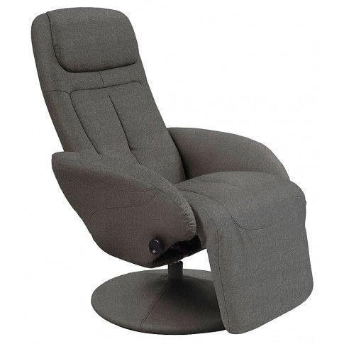 Zdjęcie produktu Wypoczynkowy obrotowy fotel rozkładany Timos 2X - popielaty.