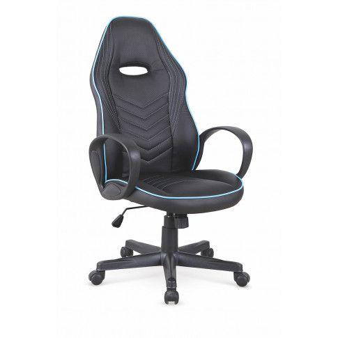 Zdjęcie produktu Fotel obrotowy Erton - czarny .