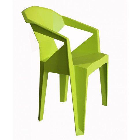 Zdjęcie produktu Krzesło Jaksen - zielone.