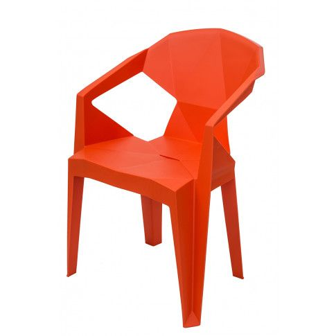 Zdjęcie produktu Krzesło Jaksen - pomarańczowe.