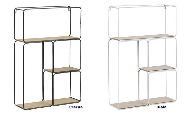 Designerskie półki Tippi - loftowe