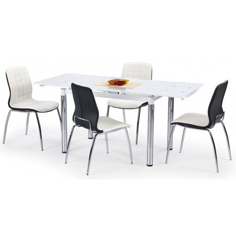Zdjęcie produktu Rozkładany stół Extrin - biały.
