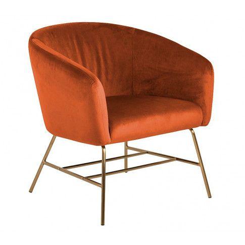 Zdjęcie produktu Fotel muszelka Pablos 2X - pomarańczowy.