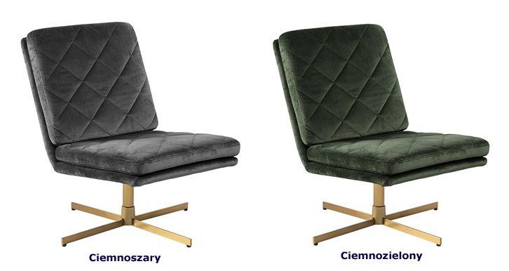 Miękkie fotele wypoczynkowe Ricco - pikowane