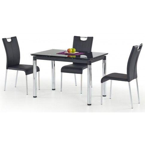 Zdjęcie produktu Rozkładany stół Extrin - czarny.