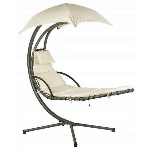 Zdjęcie produktu Fotel wiszący do ogrodu Confucio - piaskowy.