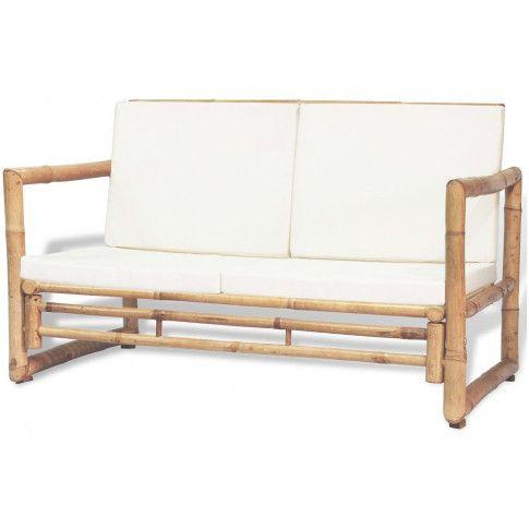 Zdjęcie produktu Bambusowa sofa ogrodowa Belta - brązowa.
