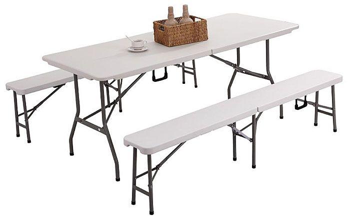 ławka Nino - komplet ze stołem