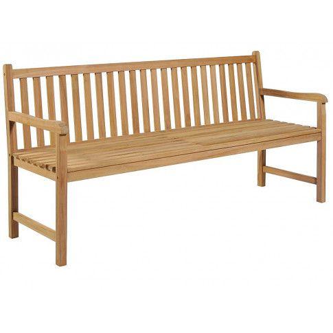 Zdjęcie produktu Drewniana ławka do ogrodu Lexter - brązowa.