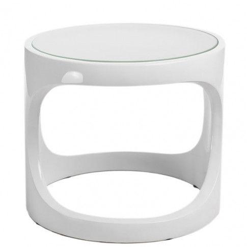 Zdjęcie produktu Biały stolik kawowy Silio.
