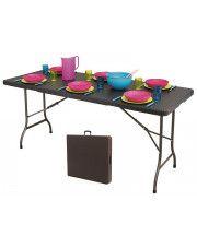 Stół składany cateringowy Turner 3X - technorattan