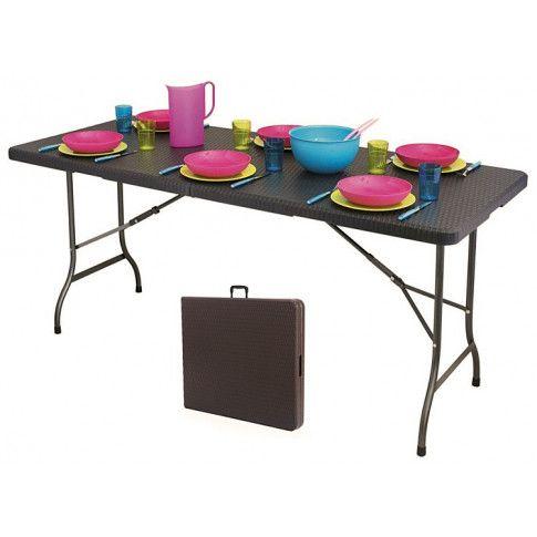 Zdjęcie produktu Stół składany cateringowy Turner 3X - technorattan.