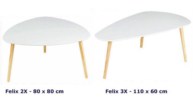 Modele stolika kawowego Felix