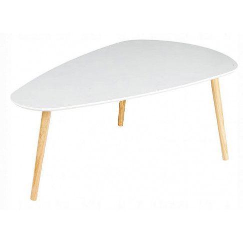 Zdjęcie produktu Biały skandynawski stolik kawowy Felix 3X.
