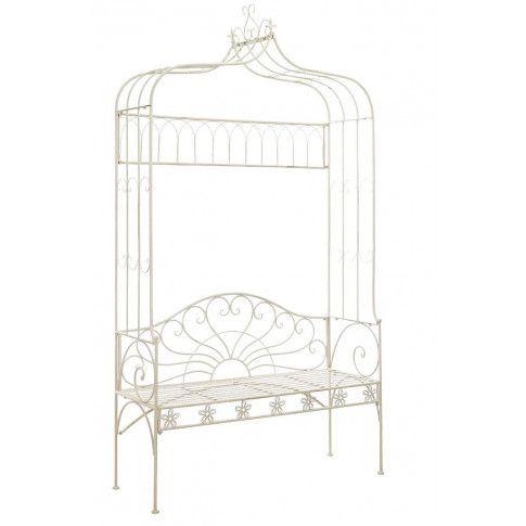 Zdjęcie produktu Klasyczna ławka ogrodowa Heine - biała.