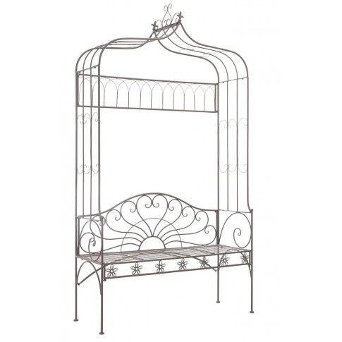 Zdjęcie produktu Klasyczna ławka ogrodowa Heine - brązowa.