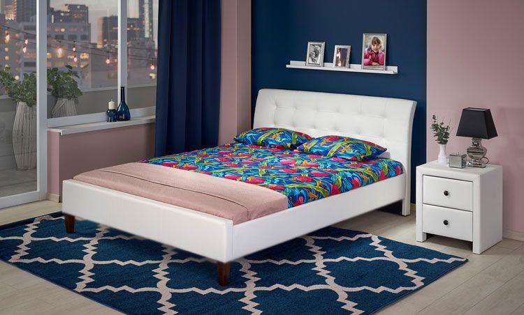 Wizualizacja łóżka Nixin.