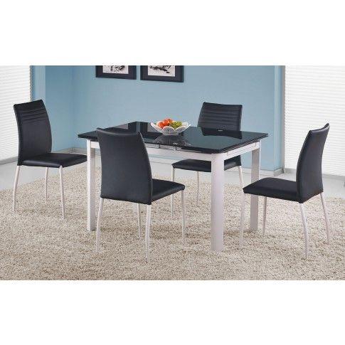 Zdjęcie produktu Rozkładany stół Bistron - czarny.