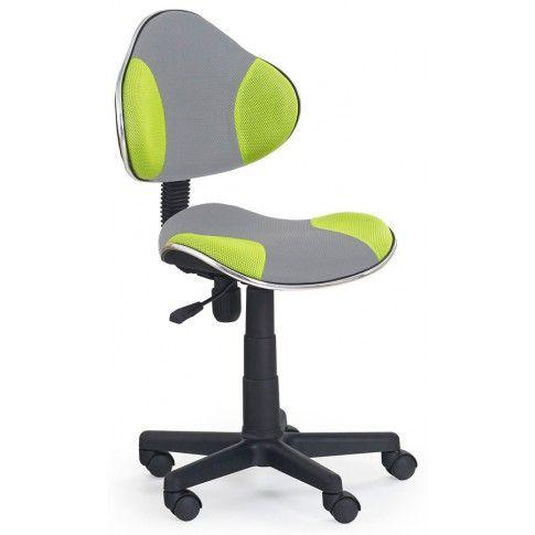 Zdjęcie produktu Fotel młodzieżowy Liber - zielono-szary.