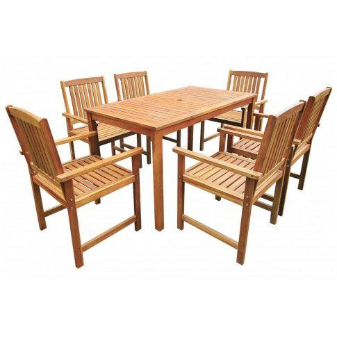 Zdjęcie produktu Zestaw drewnianych mebli ogrodowych - Kint 3X.