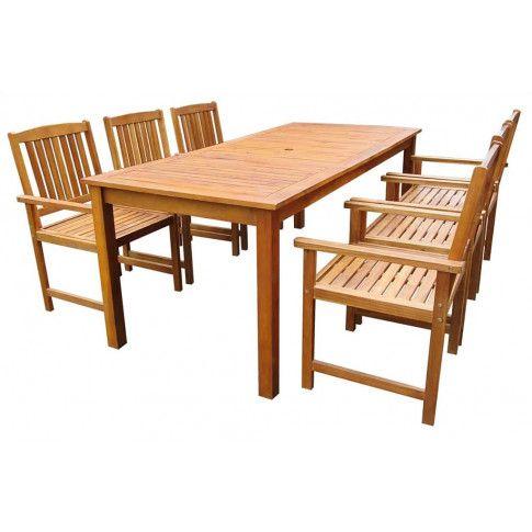 Zdjęcie produktu Zestaw drewnianych mebli ogrodowych - Kint 4X.