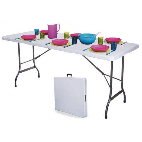Zdjęcie produktu Stół cateringowy składany Turner 4X - biały.