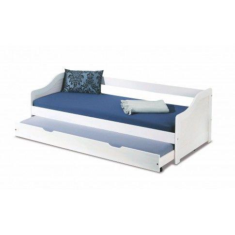 Zdjęcie produktu Białe łóżko powójne rozsuwane Legis.