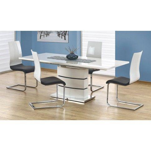 Zdjęcie produktu Rozkładany stół Wobis - biały.