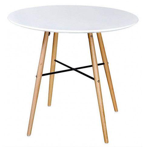Zdjęcie produktu Okrągły stół Diodor - biały.