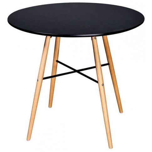 Zdjęcie produktu Okrągły stół Bacoli - czarny.