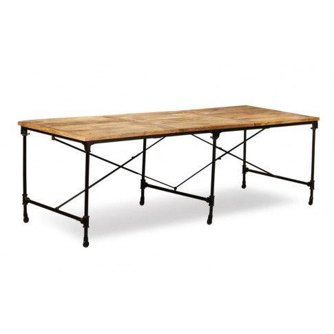 Zdjęcie produktu Stół z drewna mango Sinnar 3X – jasnobrązowy .
